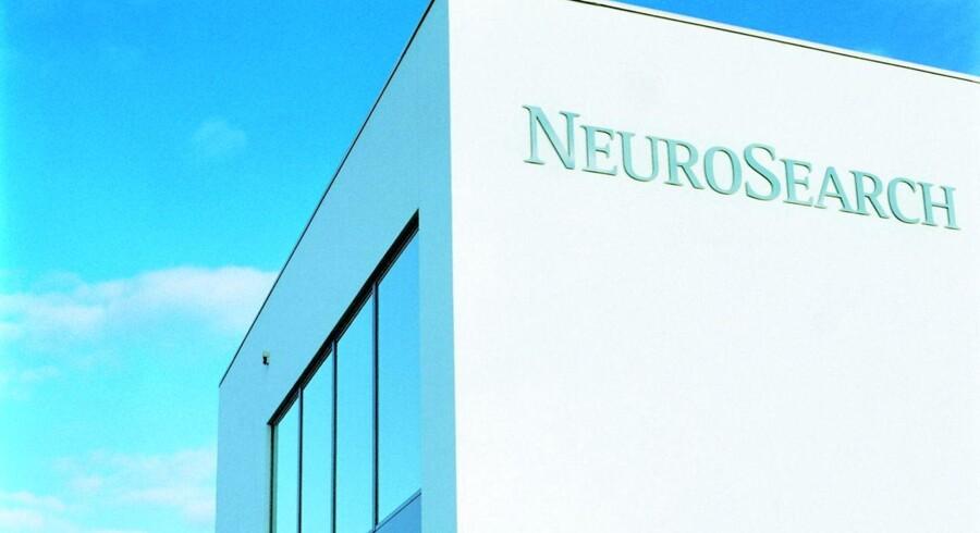 NeuroSearch i Ballerup klar til at blive afviklet.