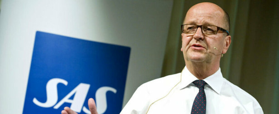 SAS' koncernchef Mats Jansson siger, at flyselskabet kæmper for livet.