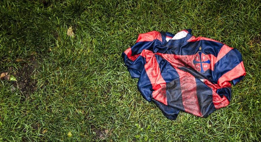 Boldklubben Frems nyeste fodboldtrøje.