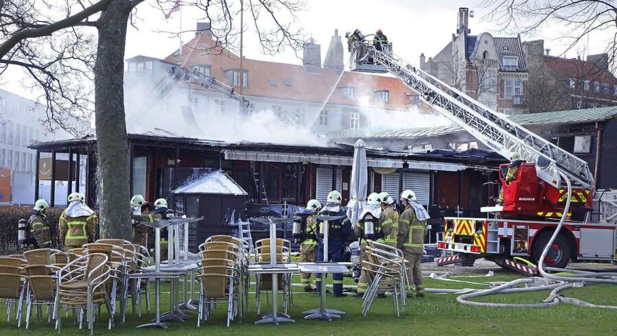 Der skal opføres et nyt Frihedsmuseet på samme sted, som det daværende museum blev udsat for svære skader efter en brand natten mellem 27. og 28. april. Foto: Lars Rievers