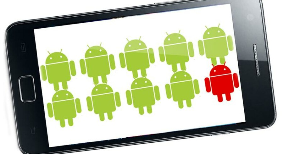 Android Market er en relativ åben butik for diverse applikationer, hvilket gør, at også ondsindede applikationer med malware kommer indenfor. Sikkerhedsselskab advarer imod disse.