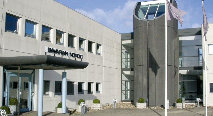 Bavarian Nordics vaccinefabrik i Kvistgård.