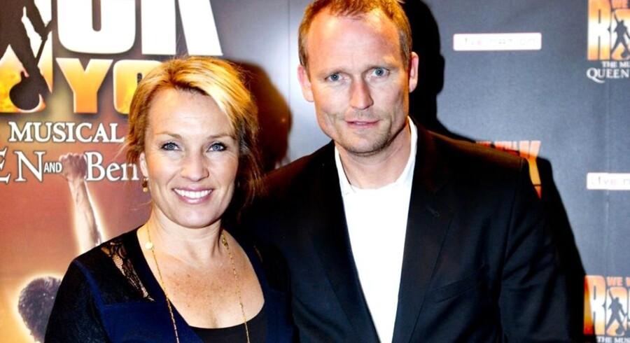 Danny Feltmann og hustruen Lene Espersen