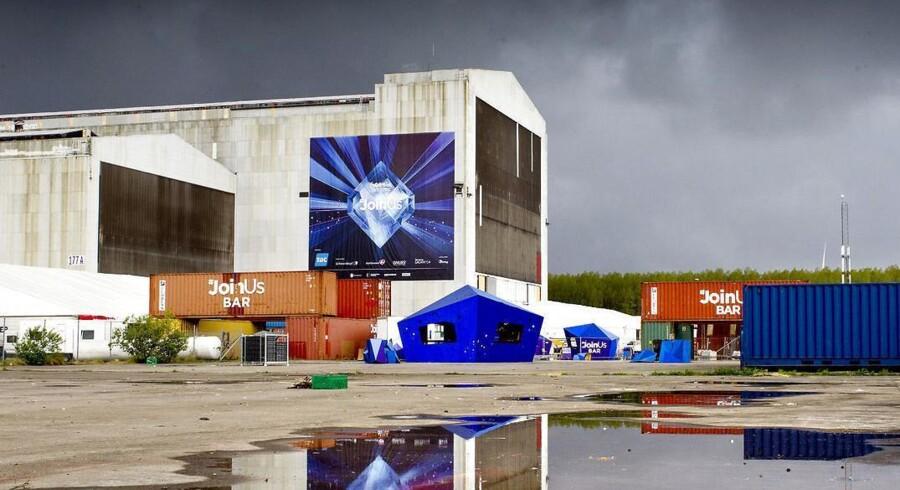 Arkivfoto. Den gamle B&W-hal der lagde hus til Eurovision, er ved at blive tømt og ført tilbage til det den var før den blev ombygget for millioner.