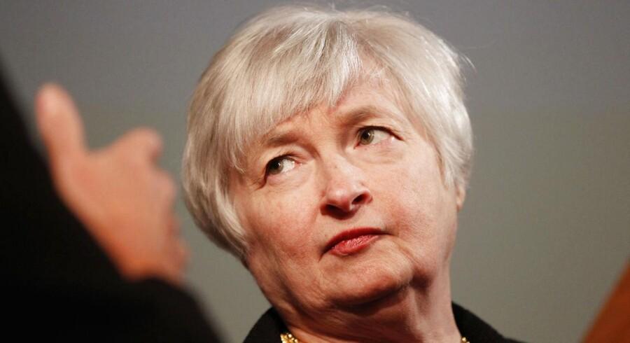 Janet Yellen står til at blive ny topchef for Federal Reserve i USA.
