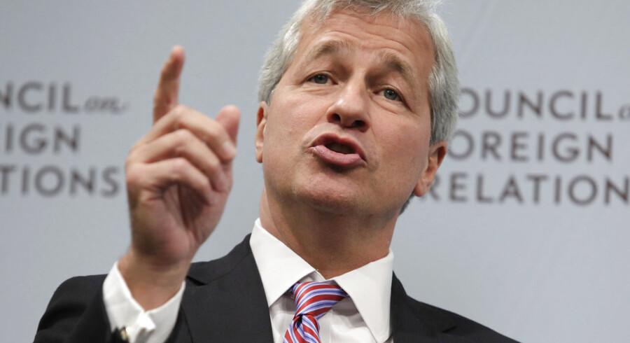 Topchef i JPMorgan Chase, Jamie Dimon, er efterhånden en af de eneste direktører i de store amerikanske pengeinstitutter, der har siddet på posten hele vejen gennem finanskrisen.