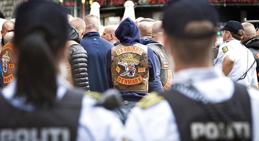 Exit-indsatsen for rockere og bandemedlemmer halter og skal strammes op. Arkivfoto fra byretten i København.