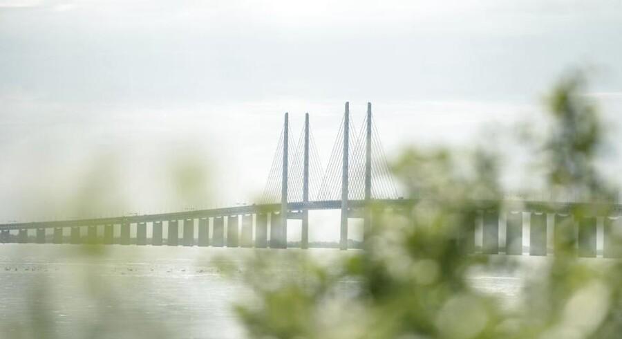ARKIVFOTO. Øresundsbrons set fra Peberholmen (Foto: Christian Liliendahl/Scanpix 2014)