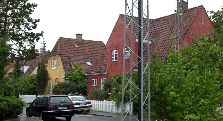Villabyen omkring Ved Grænsen i det nordøstlige hjørne af Frederiksberg Kommune.