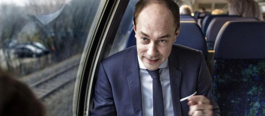 Magnus Heunicke roser Jesper Lok for et godt stykke arbejde i DSB, men ser det ikke som nogen større overraskelse, at direktøren nu skifter spor