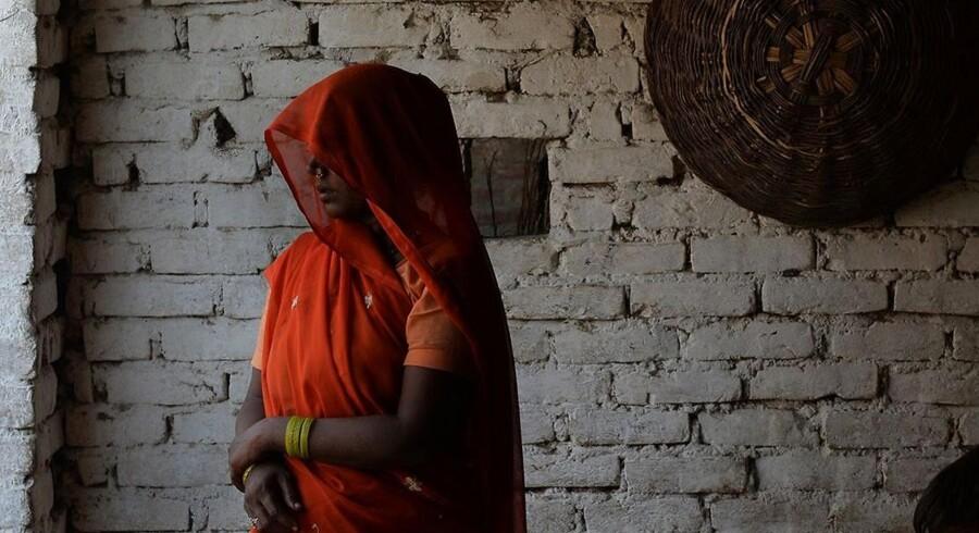 Ofrenes bedstemor. Katra Sadatganj, maj 2014.
