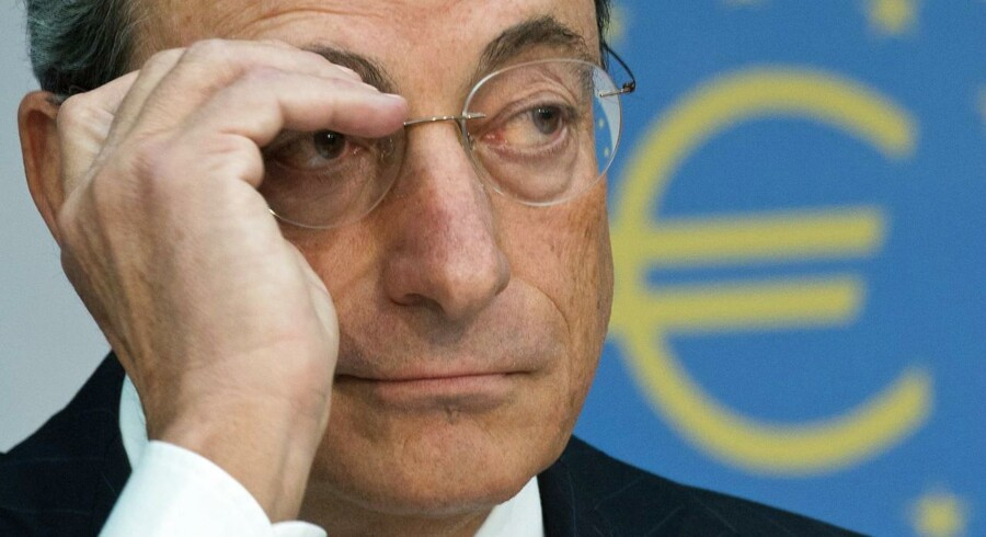 Det europæiske banktilsyn bliver placeret under ECB, som har Mario Draghi i spidsen.