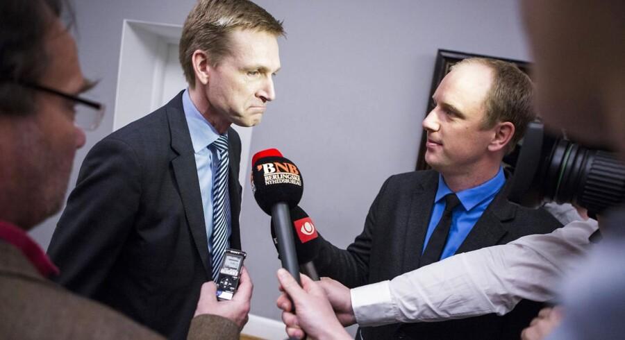 Formand for Dansk Folkeparti, Kristian Thulesen Dahl.