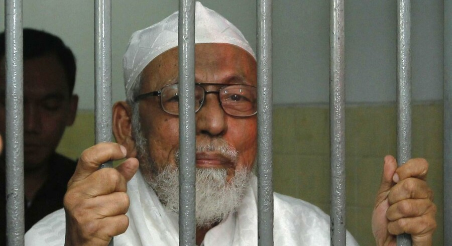 Imamen Abu Bakar Bashir har fra sin fængselscelle udtrykt loyalitet over fpr den islamistiske terrororganisation IS.