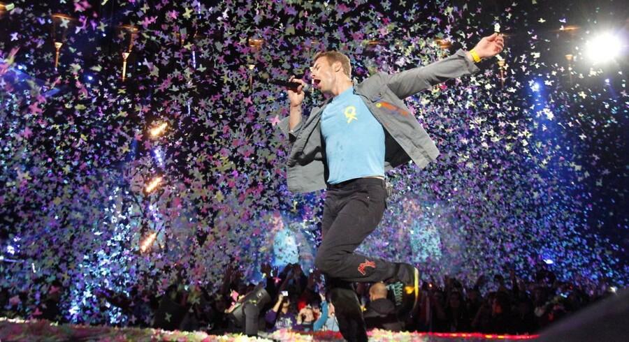 Coldplay - nu kun som købemusik