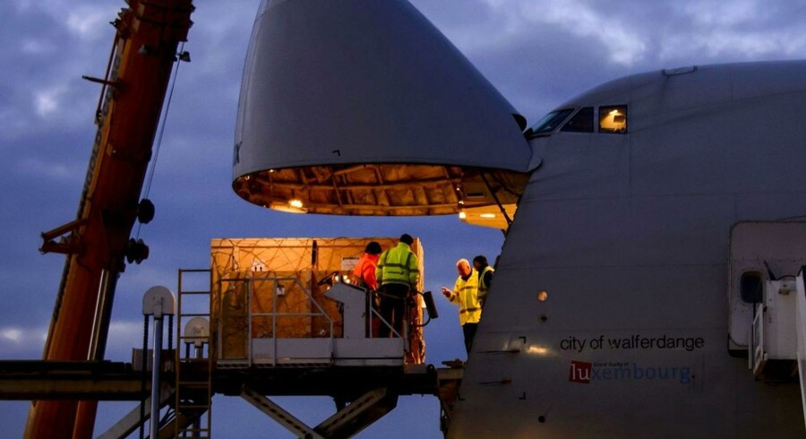 Københavns Lufthavn havde i 2012 en vækst i luftfragten på 6,4 procent og lægger sig dermed foran andre større europæiske lufthavne.