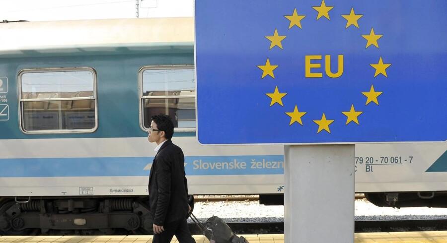 Det skal nu blive lettere for udlændinge at entrere Schengen-området, mener EU-kommissionen.