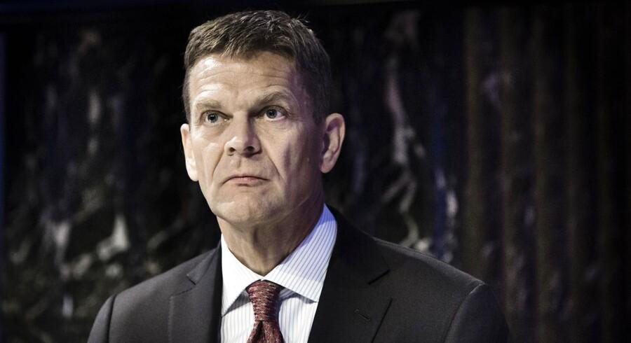Folk, der ikke har siddet i bestyrelsen i en finansiel virksomhed, forstår ikke, hvilket pres der er på, siger bestyrelsesformanden i Danske Bank, Ole Andersen.