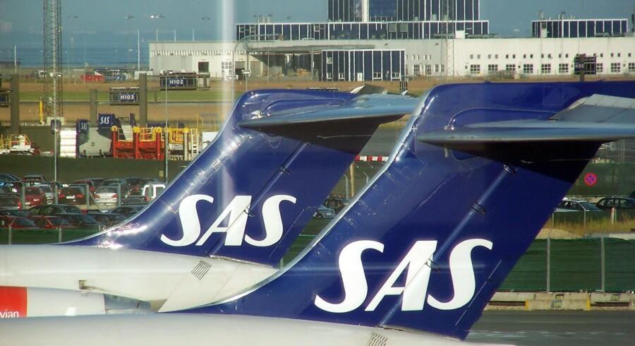 SAS mærker i stigende grad konkurrencen fra andre selskaber. Foto: Christian Als