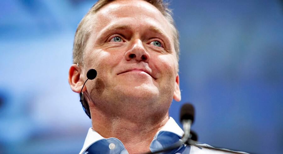 Liberal Alliances politiske leder, Anders Samuelsen.