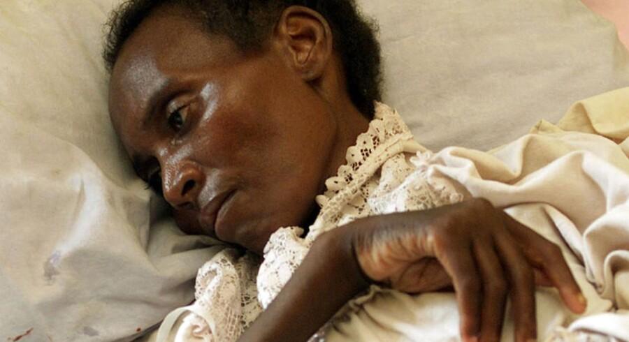 14 procent af den voksne befolkning i Zimbabwe er smittede med den alvorlige sygdom ifølge Unicefs tal fra 2009.
