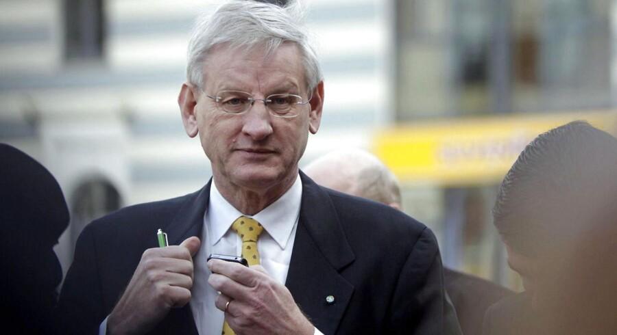 Tidligere udenrigsminister i Sverige, Carl Bildt.