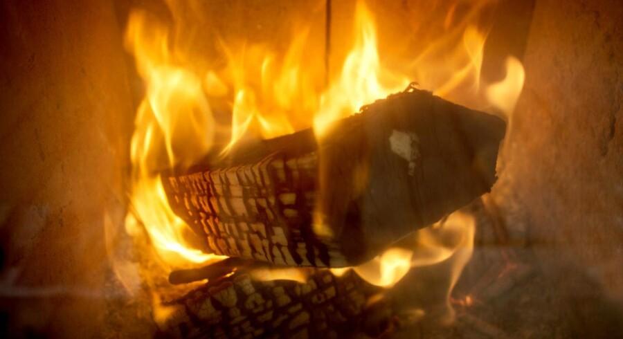 Hyggen fra brændeild kan være på retur.