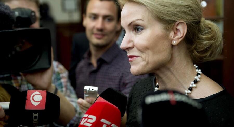 Statsminister Helle Thorning-Schmidt (S) arkivfoto.