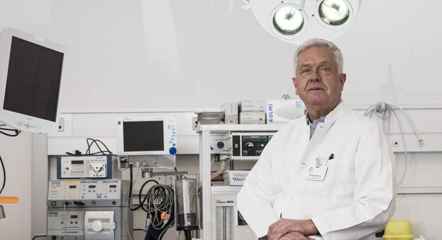 Cheflæge og ejer af privathospitalet ?Ciconia Karsten Petersen ville investere mere i IT-udstyr, hvis det var muligt at afskrive mere og hurtigere. Foto: Bo Amstrup