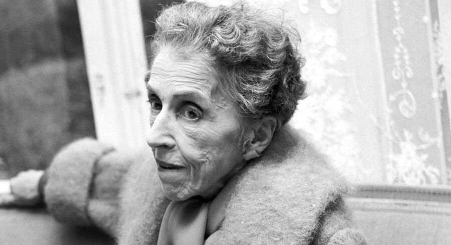 Forfatteren Karen Blixen er en del af litteraturhistorien. Den fylder mindre og mindre på danskstudierne. Foto: Scanpix