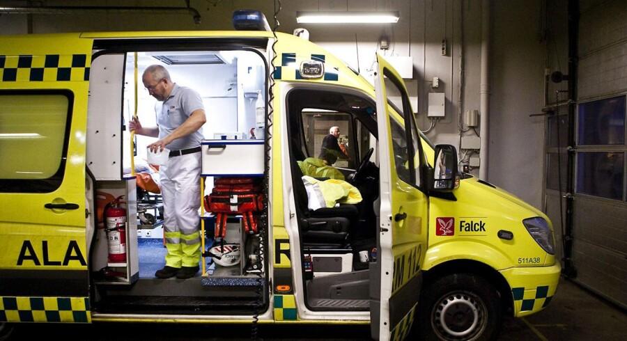 Falcks ambulancer rykker i stigende grad ud på de udenlandske markeder. USA og Tyskland er de lande, hvor Falck for alvor satser på at hive milliarder hjem.