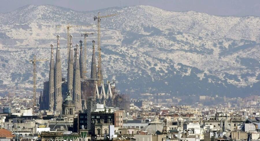 ARKIVFOTO. Barcelona. I studieåret 2011/2012 steg antallet at studerende, der valgte at studere eller være i praktik i udlandet med 547.