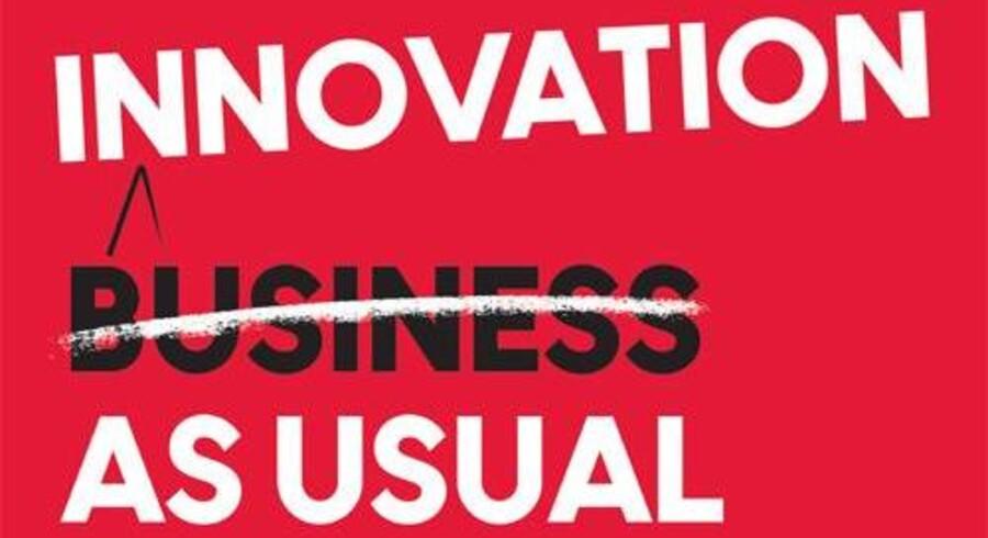 Innovation As Usual blev udgivet d. 12 marts på engelsk, og d. 19 marts på dansk.