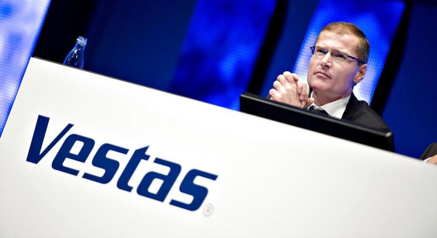 Vestas er den mest handlede aktie i Aktiespillet - og indtil videre også en af de mest profitable.