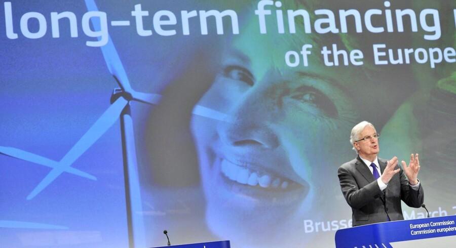 Kommissæren for det indre marked og finansiel service, Michel Barnier