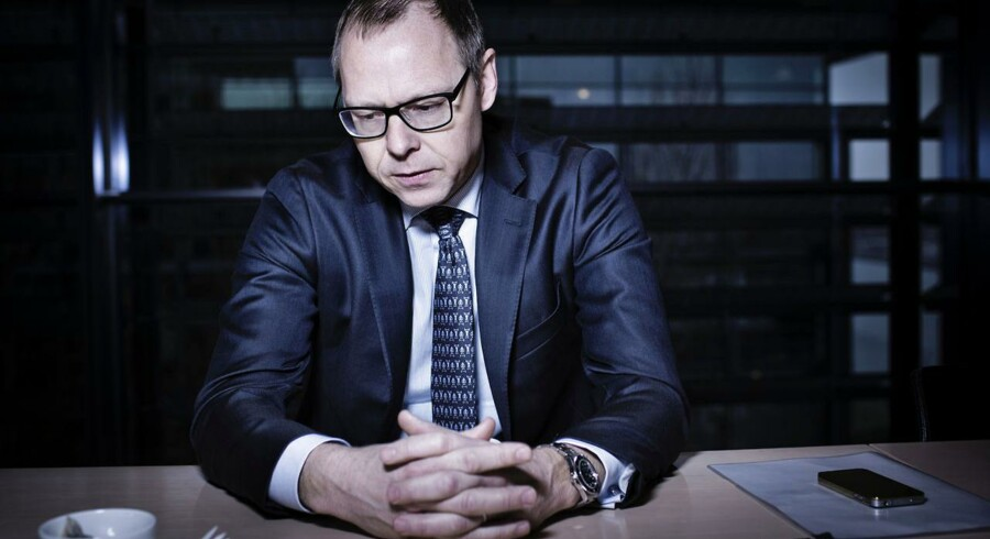 Michael Rasmussen er næsten lige tiltrådt som direktør for Nykredit efter Peter Engberg - efter et besøg fra Finanstilsynet må realkreditkoncernen nedskrive for omkring 600 millioner kroner.