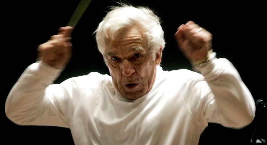At gense Vladimir Ashkenazy foran DR SymfoniOrkestret var helt igennem glædeligt. Arkivfoto: