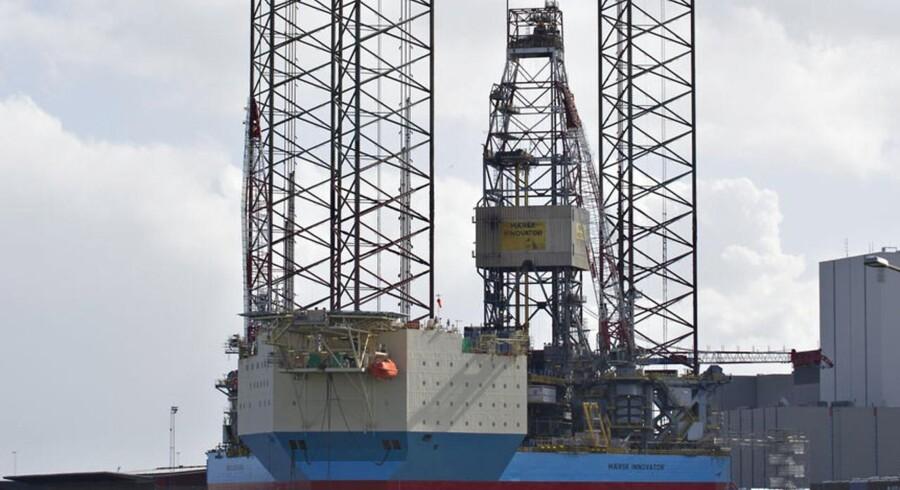 Maersk Drilling (billedet) får øget konkurrence fra norske Seadrill.