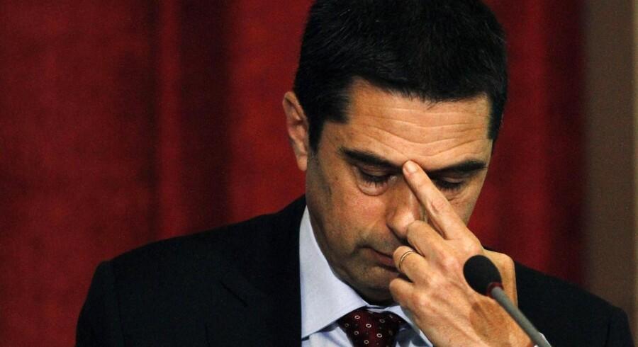 Portugals finansminister Vitor Gaspar går nu af.