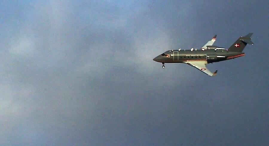 Challenger fly fra Luftvåbnet, Arkivfoto 2004.