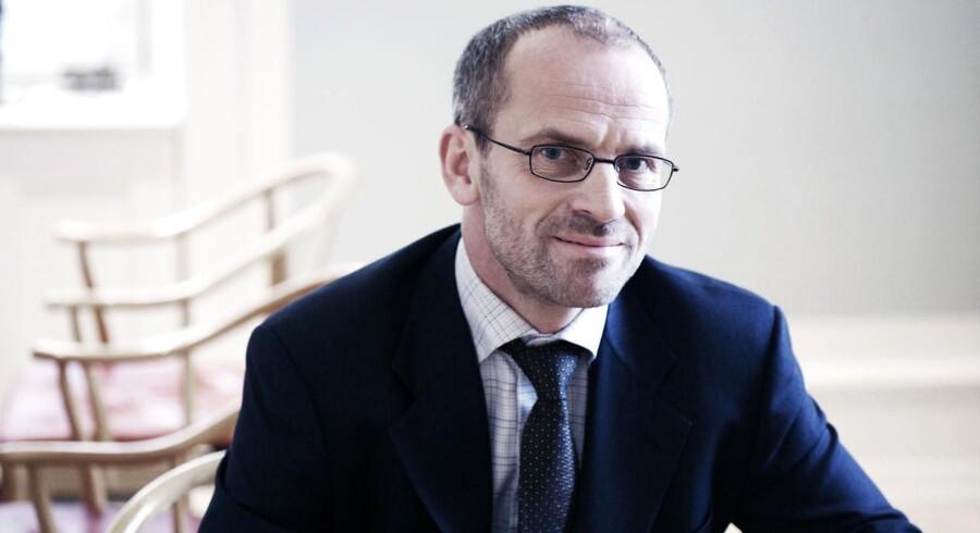 Cand.polit. Jeppe Christiansen er adm. direktør i Maj Invest. Han har tidligere været direktør i LD og før det direktør i Danske Bank med ansvar for bl.a. aktieområdet.