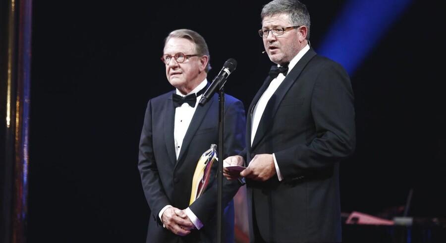 Henning Jensen modtager Årets Hæderspris 2014.