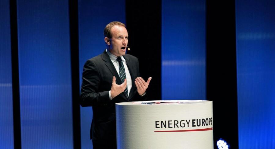 Energi- og klimaminister, Martin Lidegaard, er kommet i massiv modvind. Her taler han ved åbningen af »Energy Europe« i Bella Center.
