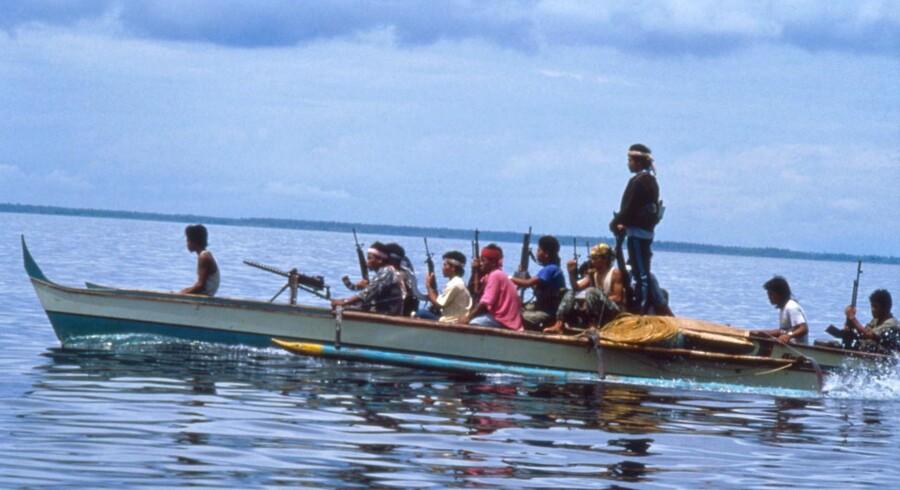 ARKIV: Pirater på Filipinerne.