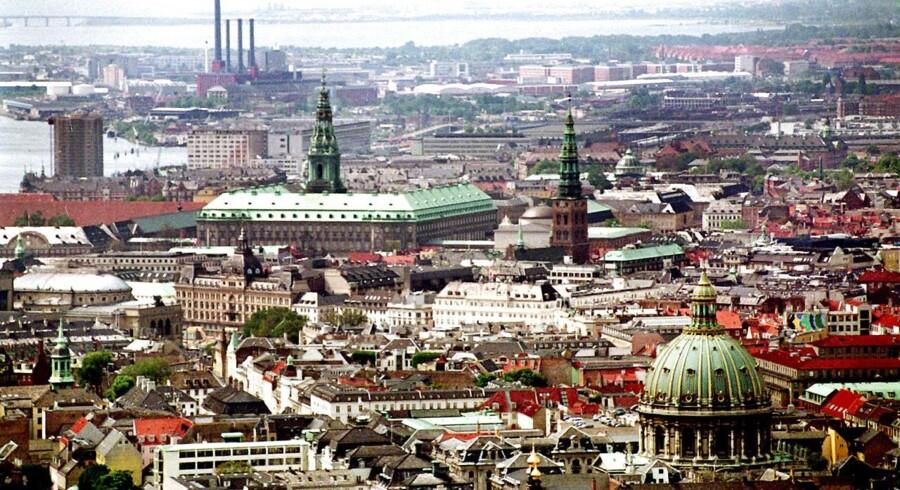 Det er, ikke overraskende, København og Frederiksberg, hvor efterspørgslen efter boliger er størst.