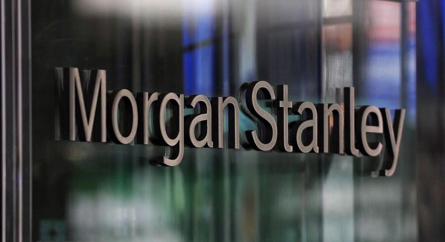 Investeringsbanken Morgan Stanley havde et skidt andet kvartal.
