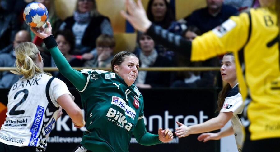 Viborg tillod kun TTH Holstebro at score 12 gange i kampen, som Viborg vandt med ti mål. Foto: Lars Rasborg