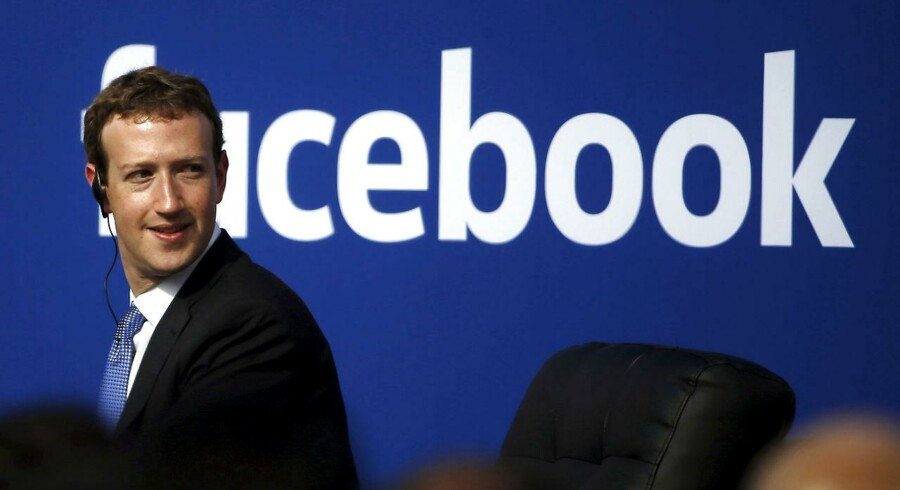 Mark Zuckerbergs Facebook er igen i vælten i Storbritannien efter weekendens offentliggørelse af regnskabet - og navnlig skattebetalingerne - for 2015. Arkivfoto: Stephen Lam, Reuters/Scanpix