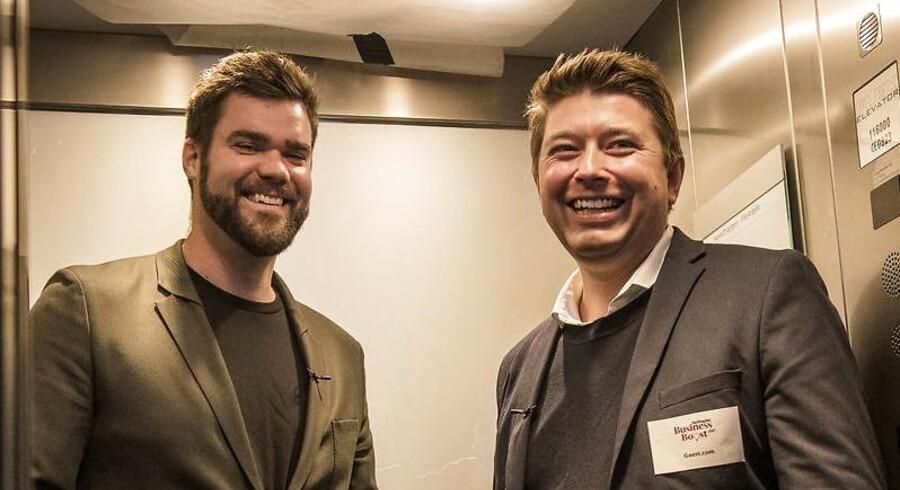 Anders Boelskifte Mogensen er CEO i og medstifter af mødebookingplatformen Gaest.com. Her møder han serieiværksætter Morten Strunge i første rundt af Berlingske Business Boost-konkurrencen.