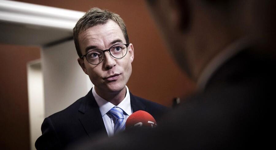 Arkivfoto: Miljø- og fødevareminister, Esben Lunde Larsen.